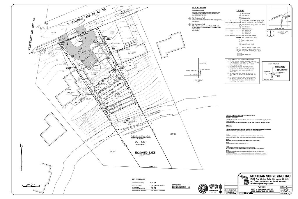 Residential building site plan for Site plan drawing online