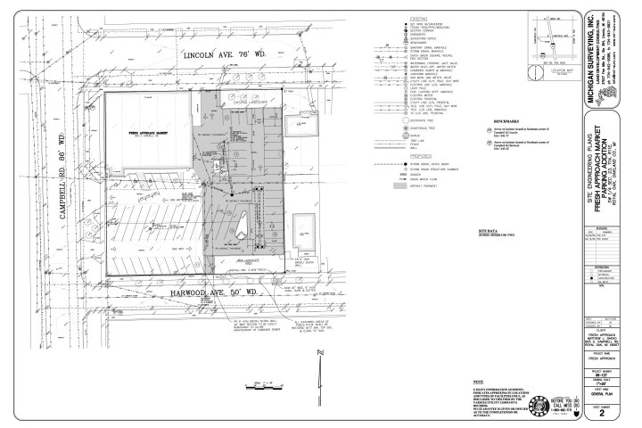 Services we offer Michigan Surveying Inc – Plot Plan And Site Plan